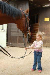 Юный конник